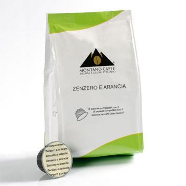 Zenzero e Arancia Nescafè Dolce Gusto