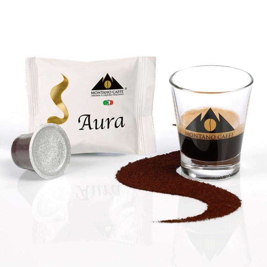 Aura - Caffè Nespresso Montano caffè