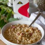 Zuppa Fagioli Orzo e Caffè - Ricetta