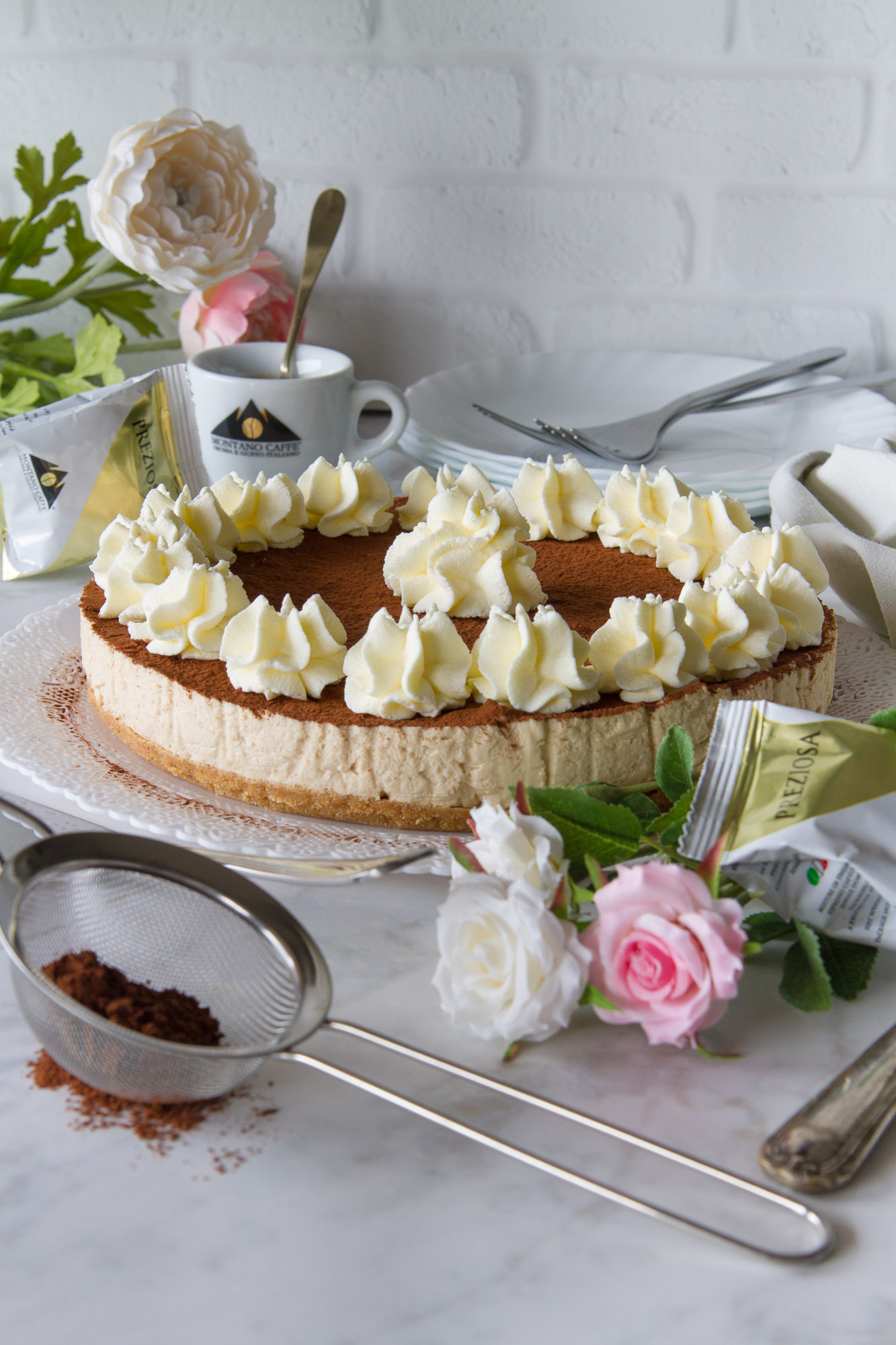 Cheesecake al caffè - Ricetta