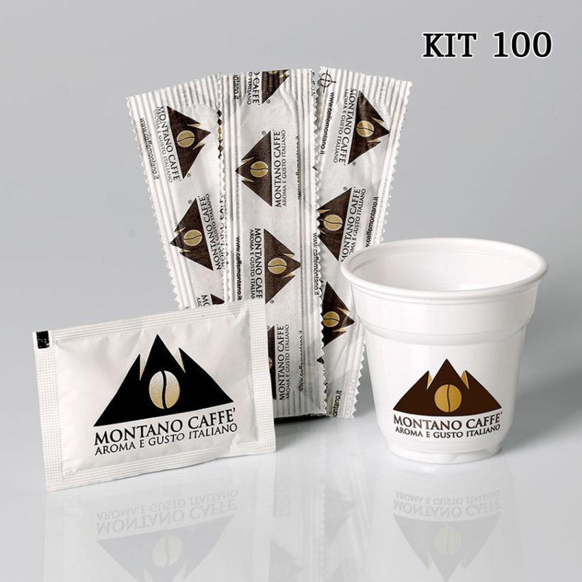 Complementari Kit 100 - Montano Caffè